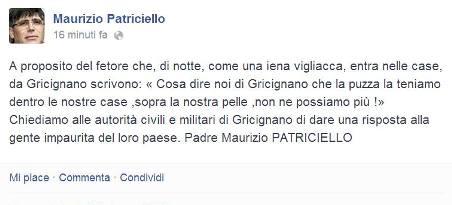 Patriciello Post Puzza