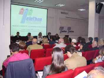 l'evento nella sala conferenze del Tigem di Napoli