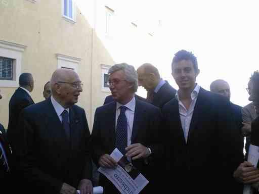 Napolitano Con Paolo Siani 04 05 08 5