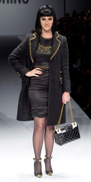 Kate Perry A Milano Per Moschino