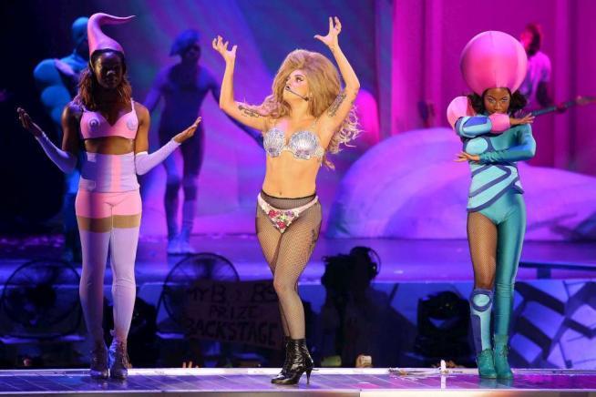 Lady Gaga Milano2014