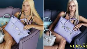 Lady Gaga Photoshop Versace