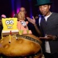 Pharrell Williams spegne 41 candeline con Spongebob