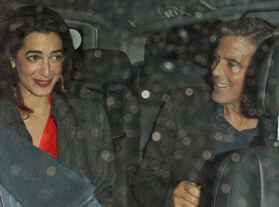 George Clooney  E Amal