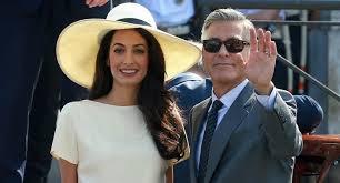 Geroge Clooney Sposo
