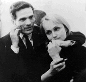 Pasolini con Laura Betti