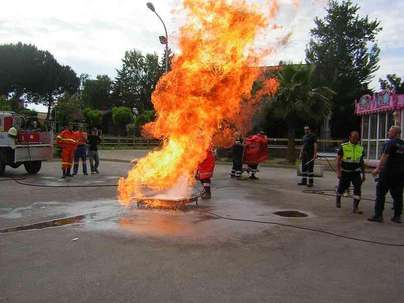 Pc Simulazione Spegnimento Incendio